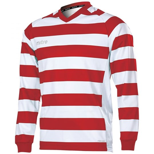 8f633a905 Mitre Converge Long Sleeve Football Jersey