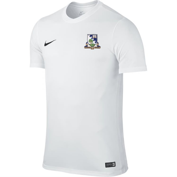 c9c82e6f7 Grove Academy - White Nike S/S Park Jersey - Direct Soccer