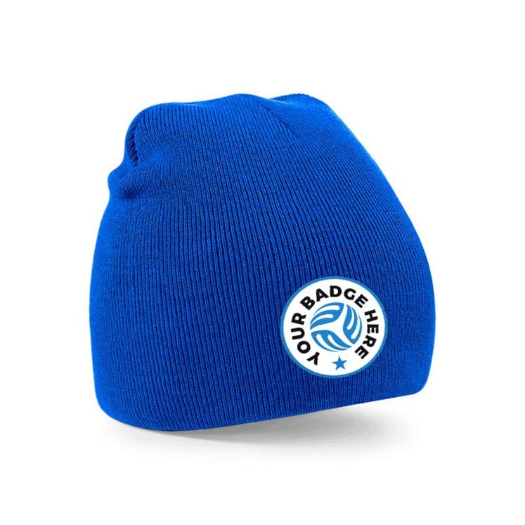 Prestige Beanie Hat Inc. Embroidered Badge