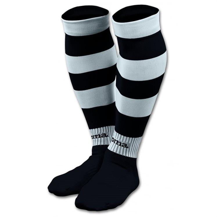 Joma Zebra Hooped Football Socks