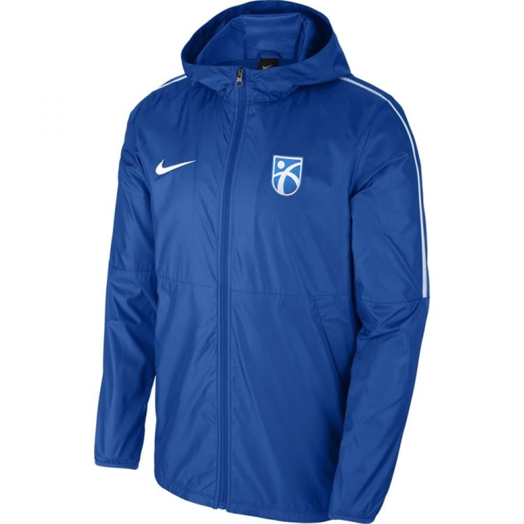 0d6654229f29 Kickstart Academy - Blue Nike Rainjacket - Direct Soccer