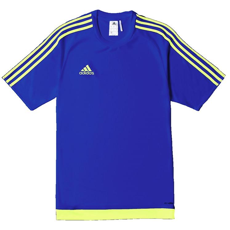 Adidas Men/'s Estro 15 Jersey T-Shirt Orange//White
