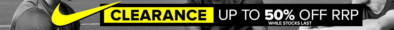 Nike Clearance Banner