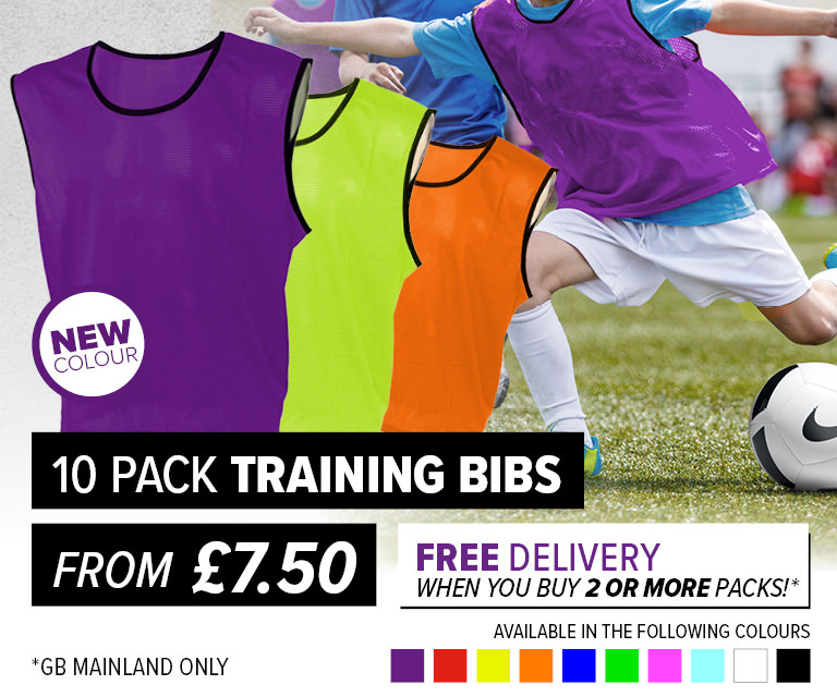 Training Bibs Free Delivery
