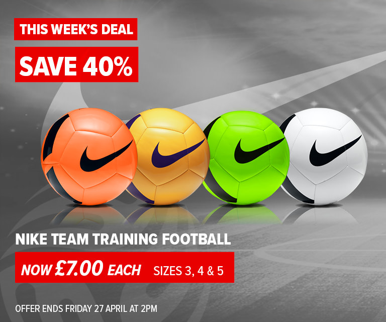 Weekly Deal - Nike Team Pitch Training Footballs £7.00