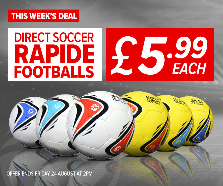 Weekly Deal - Direct Soccer Rapide Footballs £5.99 each