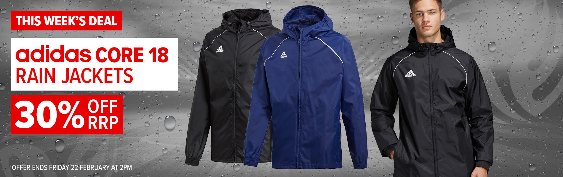 Weekly Deal - Core 18 Rain Jacket