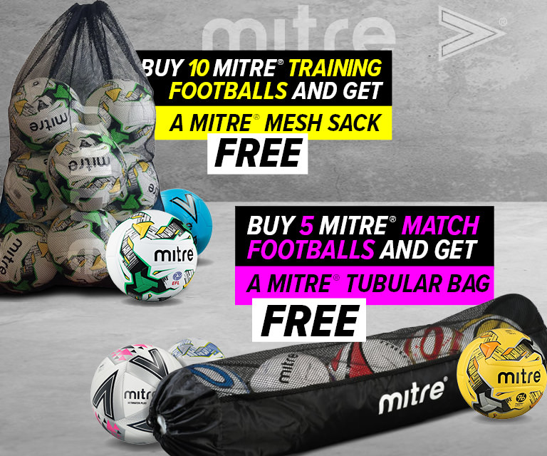 d78e773af Mitre Ball and Bag Promo Mitre Ball and Bag Promo