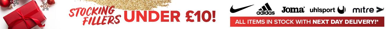 Stocking Fillers Under £10 Banner