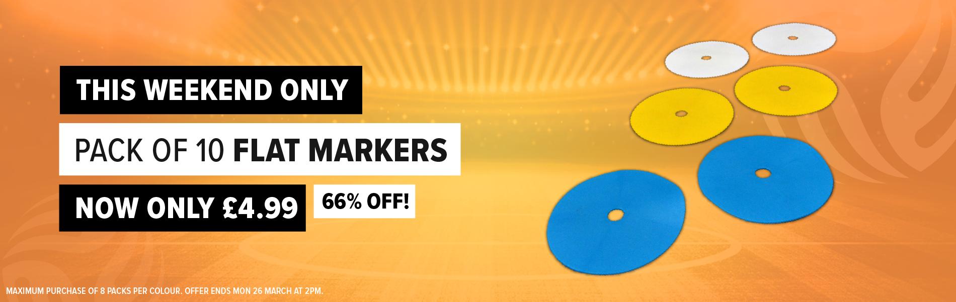 Weekend Deal - Flat Markers