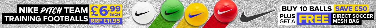 Nike Footballs Banner