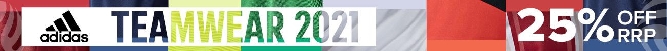 adidas 2021 Teamwear  Banner