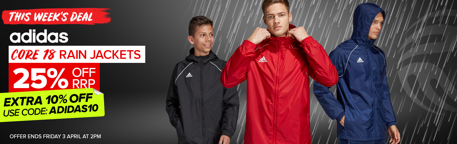 adidas Core 18 Rain Jackets