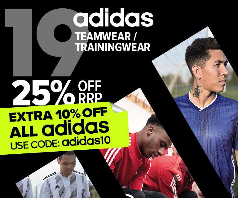 Extra 10% OFF adidas