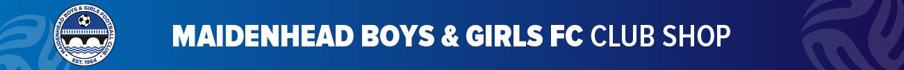 Maidenhead Boys & Girls Football Club Banner
