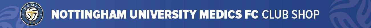 Nottingham University Medics FC  Banner