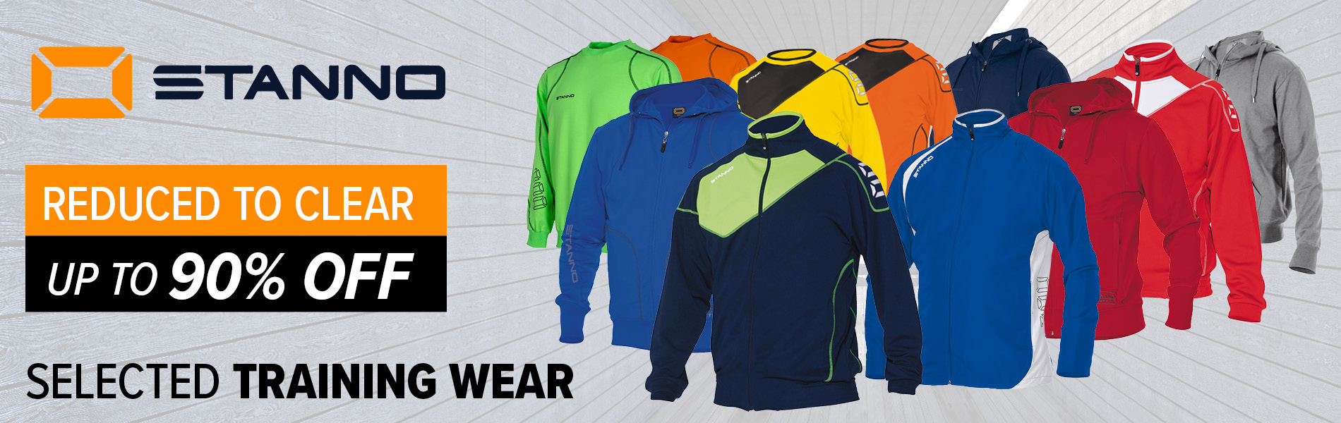 Stanno Trainingwear Clearance